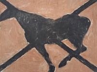 Картина Сьюзен Ротенберг (1976), вибрана для апартаментів у Білий дім